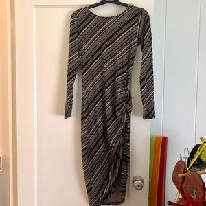 Ava Sky striped dress, size small